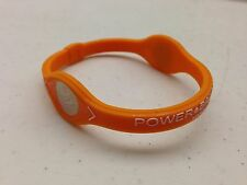 Power Balance - ORANGE with WHITE Writing, Bracelet Band  - Wristband - NEW