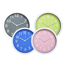 Colorful Elegant Silent Non-ticking Home Kitchen/Living Room Wall Clock