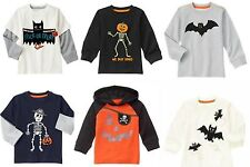 NWT Gymboree Boy's Happy Harvest Halloween Tees and Button Down Shirt