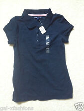 Gap Girls Girl's Shirt Collared Short Sleeve nwt Blue Size Sz XS S M L 4 5 6 7 1