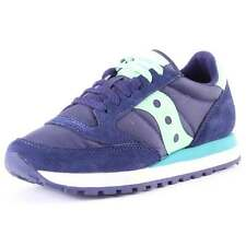 Saucony Jazz Original Womens Trainers Navy New Shoes