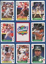 1991 U.S. Playing Cards All-Star (MLB PLayer Poker Cards) SINGLES (PICK 1)