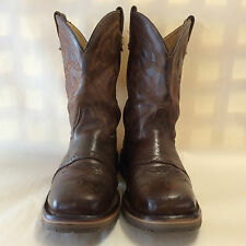 Double-H Men's Steel Square Toe Western Boots DH3567 Size 9EE