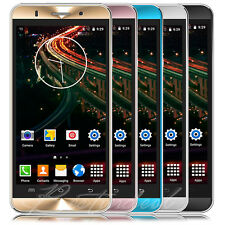 """LUXURY 5"""" Android Smartphone T-Mobile AT&T 2SIM Quad Core 3G Cell Phone Unlocked"""