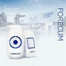 Wireless Door Bell - 1 Remote Control with 2 Wireless digital Receiver Doorbell