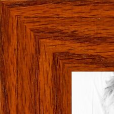 ArtToFrames 1.5 Inch Honey Stain on Oak Wood Picture Poster Frame ATF-80206