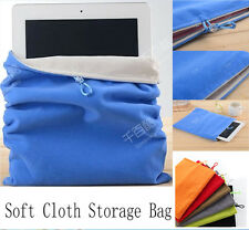 Soft Cloth Sleeve Case Storage Bag Pouch Case Cover Skin For IPAD Mini Tablet PC