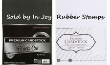 """Core'dinations Smooth Cardstock Packs 8.5X11"""" 65# 50-200 Sheets White, Black"""