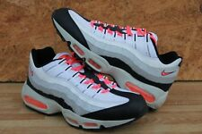 Nike Air Max 95 White/Hot Lava-Black-Granite Size 10.5 - (609048-182)