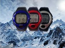 2017 new Fitness Sport Watch Pulse Heart Rate Monitor Pedometer Calories Counter