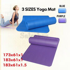 3 SIZES Extra Thick NBR Yoga Mat Gym Pilates Fitness Exercise Balance Board