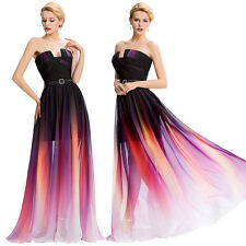 GK Elegant Luxury Strapless Ball Gown Dress Sexy Long Party Maxi Evening Prom
