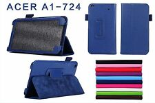 PU Leather Stand Folio Case Cover Protector Skin For Acer Iconia Talk S A1-724