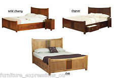 Sweet Dreams Curlew Storage Wooden Bed Double 4FT6 5FT King Size Super King 6FT