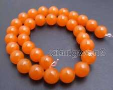 SALE Big 10mm Round China Red jade Loose Beads strand 15'' jewelry making-los690