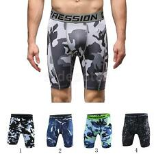 Cool Dry Compression Shorts Tights Running Fitness Sports Shorts Pants for Men