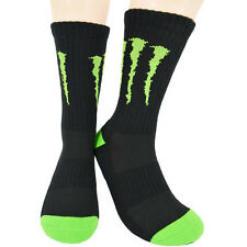 100% Cotton Monster Cycling Socks AM DH Racing Mountain Bike Riding Free Size