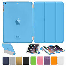 Leather Smart Stand Magnetic Hard Case Cover For APPLE iPad Air 4 3 2 Mini 2 3 4