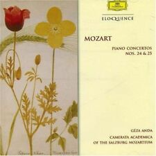 Mozart:piano Concertos Nos 24&25 - Geza Anda New & Sealed Compact Disc Free Ship