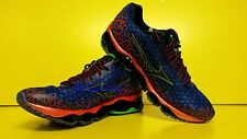 Mizuno Wave Prophecy 3 Running Shoes (M) Blue/Red J1GC140018