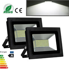 2X 60W LED SMD Flood Spot Light Outdoor Landscape Garden Cool White Lamp IP65