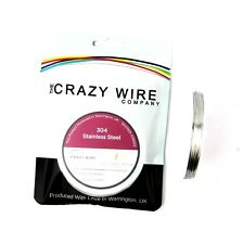 0.5mm (24 AWG) - 304 Grade Stainless Steel Wire - Various Spools