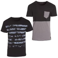 VOLCOM men's T-shirt Tee New Mens PRINTED BLK SURFING Skate VARIOUS 2