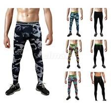 Men Workout Clothes Tights Running Legging Thermal Pants Sport Training Pants