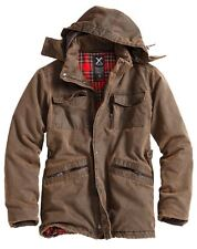 SURPLUS XYLONTUM SUPREME MENS JACKET WARM HOODED WATER-RESISTANT PARKA