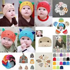 Unisex Newborn Baby Boys Girl Toddler Infant Cotton Soft Cute Floral Hat Cap Hot