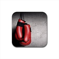 Boxing Bottle Opener Keychain and Beer Drink Coaster Set