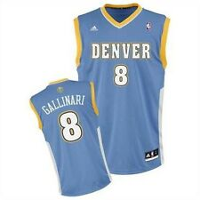 Adidas Denver Nuggets Danilo Gallinari NBA Basketball Replica Jersey Shirt Blue