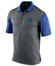 DUKE BLUE DEVILS POLO SHIRT- NIKE COACHES POLO-ALL SIZES -NEW W/ TAGS-$65 RETAIL