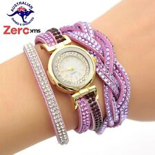 Crystal Rhinstone Analog Quartz Wrist Fashion Women Watch Luxury Wristwatch CCQ