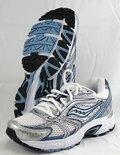 SAUCONY Women's Grid Cohesion 4 - White/Silver/Blue - Multi SZ - NWD - MSRP $70