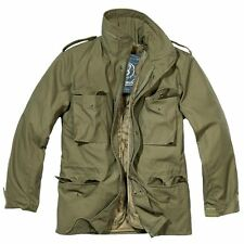 BRANDIT M65 JACKET WITH QUILTED LINER MENS MILITARY ARMY COMBAT FIELD COAT
