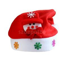 Funky Christmas Cute Deer Santa Claus Snowflake Pattern Pointy Hat Party Gifts