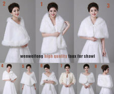 wedding shawl faux fur wrap Wedding wrap   Wedding bolero bridal shawl jacket