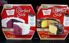 Duncan Hines ~ Perfect Size Cakes w/Frosting