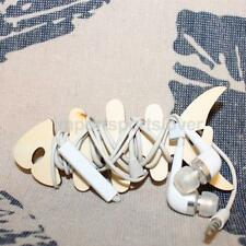 10pcs Wooden Cut Out Craft Shapes Scrapbooking Embellishments Thread Winder