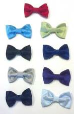 Lito Baby Boy's Polysilk Clip-On Bow Ties- 18 Colors- and Choice of Suspenders