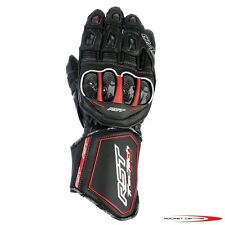 RST TRACTECH EVO RACE KANGAROO LEATHER MOTORCYCLE GLOVES MOTORBIKE RACE TRACK