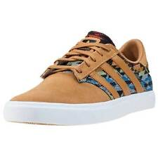 adidas Seeley Premiere Mens Trainers Tan White New Shoes