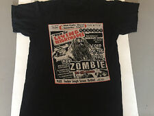 Rob Zombie Den of Living Nightmares Black T-Shirt Size Adult Small