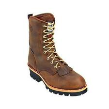 New Georgia Boot G9382 Men's Brown Work Boots