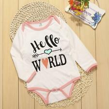 Newborn Baby Girls Boys Bodysuit Romper Outfit Jumpsuit One-piece Playsuit 0-24M