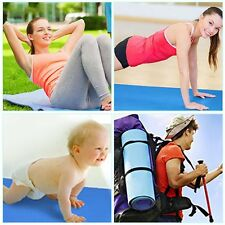 Non-Slip 10mm Ultra Thick Yoga Mat Fitness Exercise Sports Pilate Pad New M2