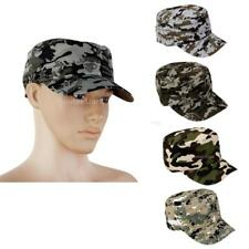 Mens Camouflage Military Hat Camo Hunting Fishing Army Baseball Cap Snapback Hat