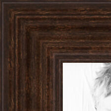 ArtToFrames 1 Inch Walnut Stain on Maple Wood Picture Poster Frame 60823 SM