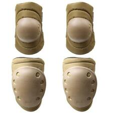 Pack of 4 Cycling Roller Skate Skating Elbow Knee Protective Gear Pads Safeguard